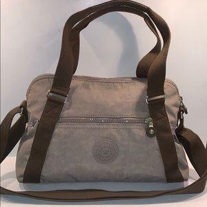 kipling anette satchel HB6498 Chestnut crossbody